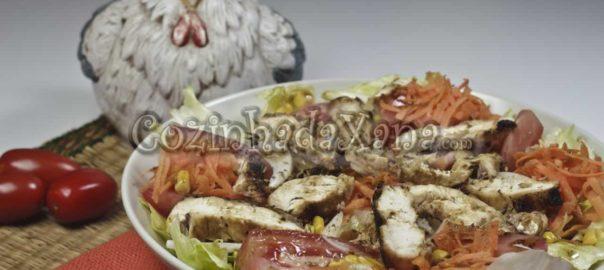 Salada de frango