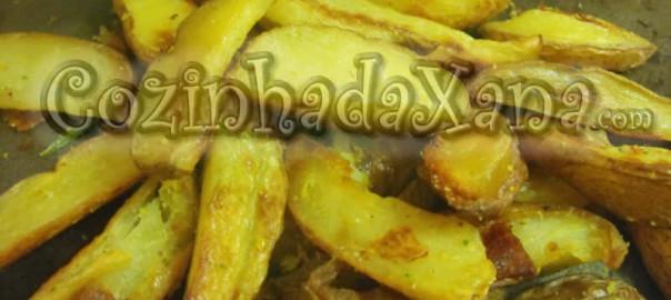 Batata frita no forno