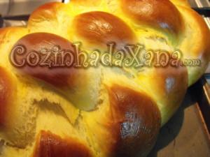 Pão de Berlin na maquina de fazer pão