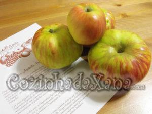 Marmelada de maçã riscadinha