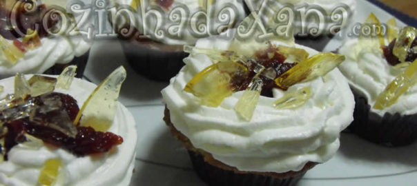Bloody cupcakes (cupcake de canela)