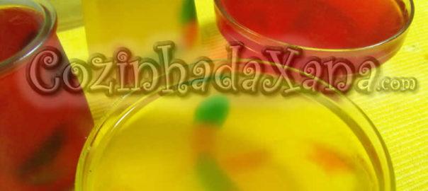 Gelatina com vermes