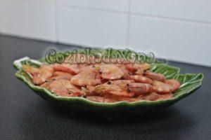 Como fazer Camarão cozido