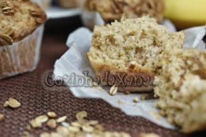Muffins de muesli (sem ovo)