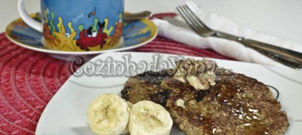 Panquecas de aveia com banana (sem glúten)