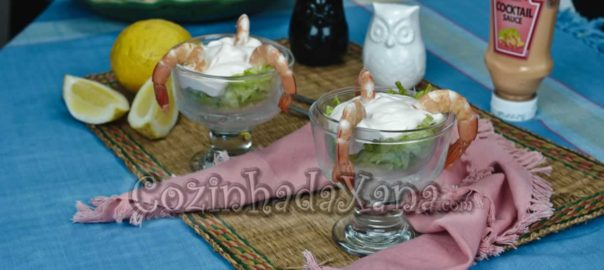 Cocktail de camarão