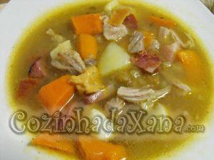 Sopa de cozido à portuguesa